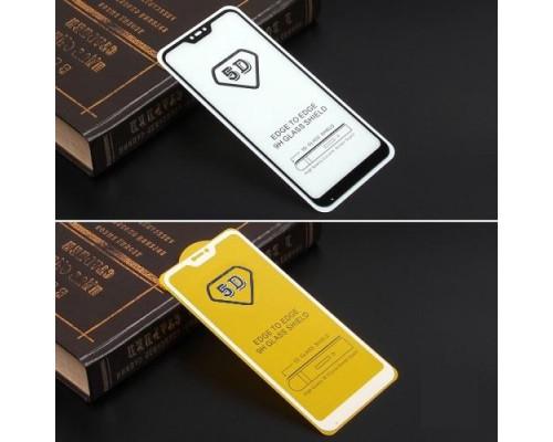 Защитное стекло для Xiaomi Mi A2 lite 5D полная проклейка черное
