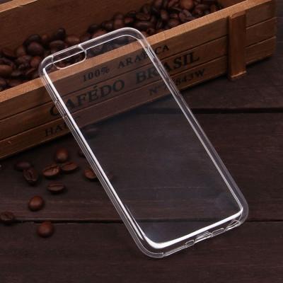 Чехол силиконовый на IPhone 6 прозрачный, 2мм