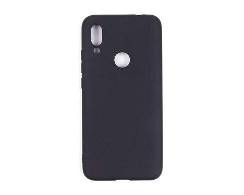 Чехол матовый на Xiaomi Redmi 7 Черный