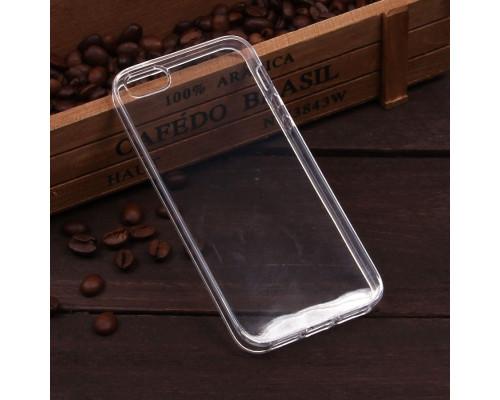 Чехол силиконовый на IPhone 5 прозрачный, 2 мм
