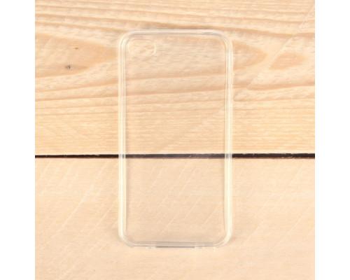 Чехол силиконовый на IPhone 4s прозрачный, 1мм