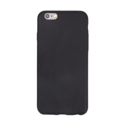Чехол матовый на IPhone 6S черный