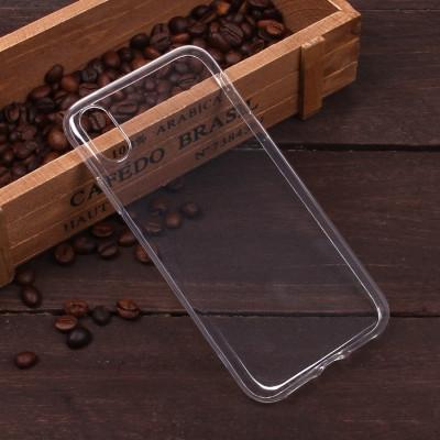 Чехол силиконовый на IPhone XR прозрачный