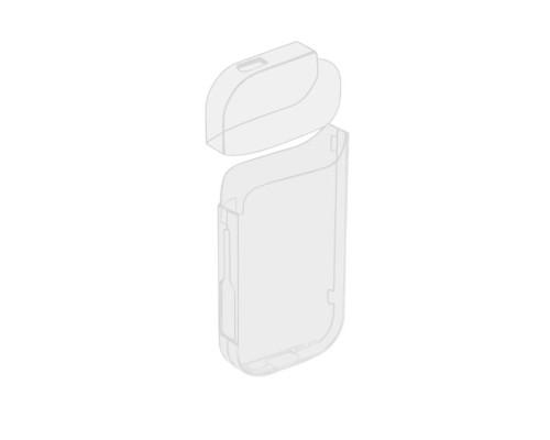 Чехол для IQOS 2.4 прозрачный глянцевый
