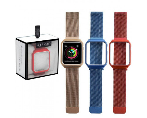 Ремешок для Apple Watch 44 мм one body Milanese loop