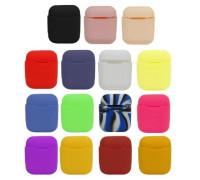 Силиконовый чехол для Apple Airpods разные цвета