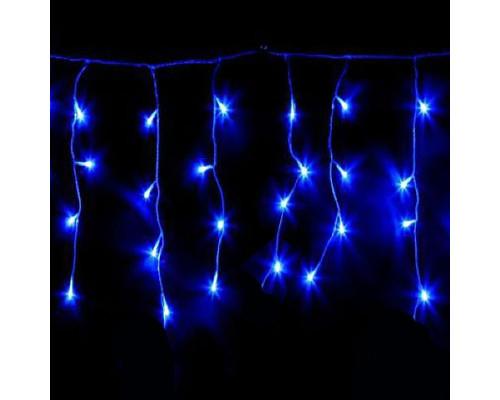 Гирлянда Бахрома 90 ламп, 220х60 см голубая
