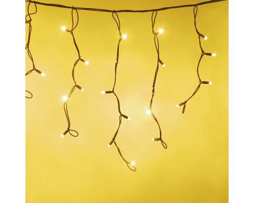 Гирлянда Бахрома 250 ламп, 300х50 см желтая