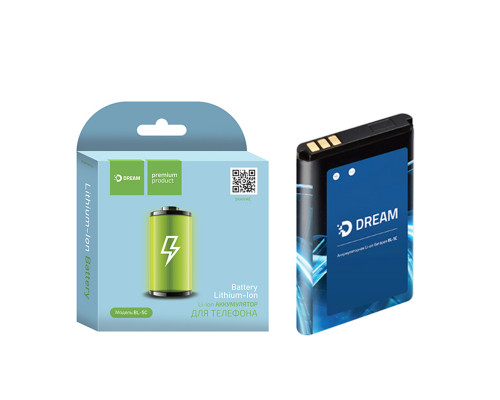 Аккумулятор Dream BL-5C для Nokia, 1020 мАч