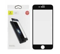 Защитное стекло Baseus для iPhone 8 5D черное Anti Blue Ray