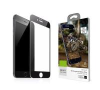 Защитное стекло Baseus для iPhone 7 3D черное, в комплекте 2 шт