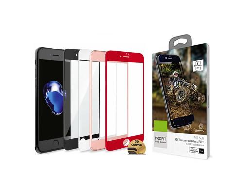 Защитное стекло Baseus для iPhone 7 3D