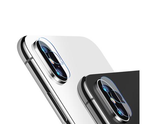 Защитное стекло на камеру IPhone X Baseus 2 штуки