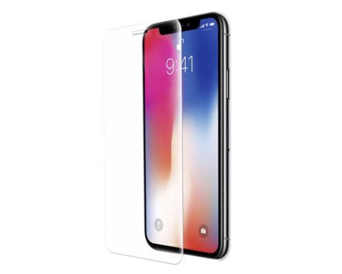 Защитное 5D стекло для iPhone XS прозрачное