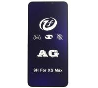 Защитное 5D стекло для iPhone XS Max матовое с антибликовым эффектом