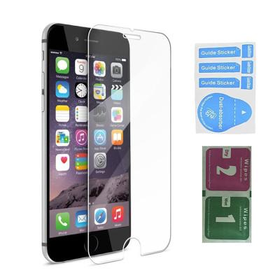 Защитное стекло для iPhone 7 Plus (вид - 2.5D, в комплекте салфетка и стикер)