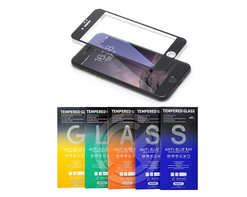 Защитное стекло Remax Gener для iPhone 8 Plus 3D черное Anti Blue Ray