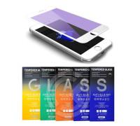 Защитное стекло Remax Gener для iPhone 7 3D белое Anti Blue Ray