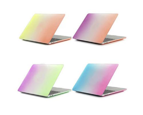 "Пластиковый чехолHardShell Case для Apple MacBook Air 13.3"" радужный"