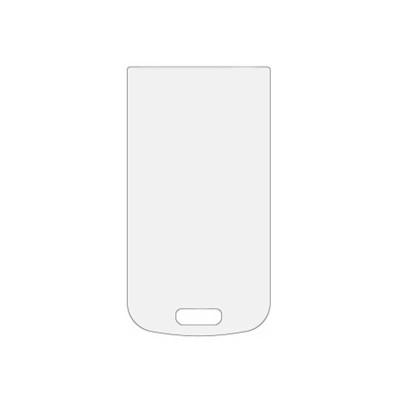 Защитное стекло для Samsung Galaxy S3 Mini (вид - 2.5D, комплектация эконом)