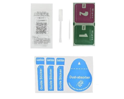 Комплект для приклейки защитного стекла (стикер, салфетки и гель)