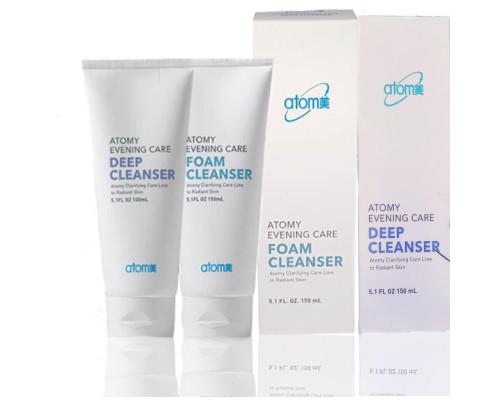 Комплект для ежедневного очищения кожи Atomy Deep Cleanser и Foam Cleanser