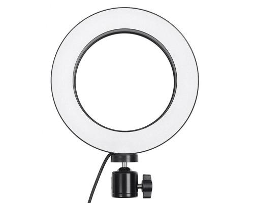 Кольцевая лампа для профессиональной съемки диаметром - 16 см