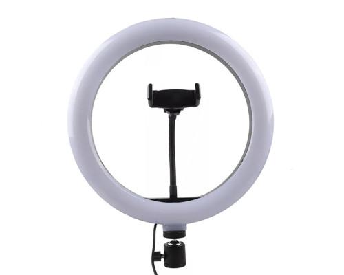 Кольцевая лампа М33 диаметром 30 см с держателем для телефона