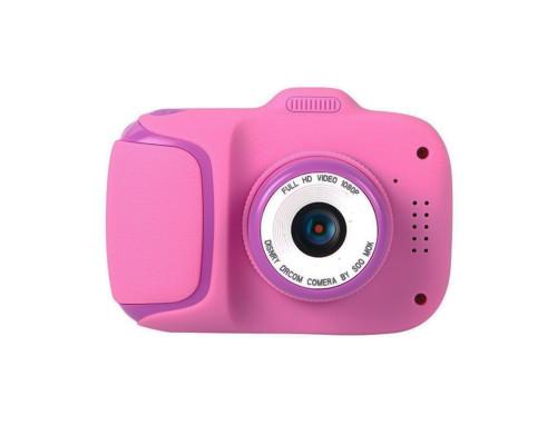 Детский цифровой фотоаппарат Children`s Camera X11 розовый