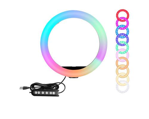 Кольцевая лампа RGB SL-R26s , диаметр 26 см
