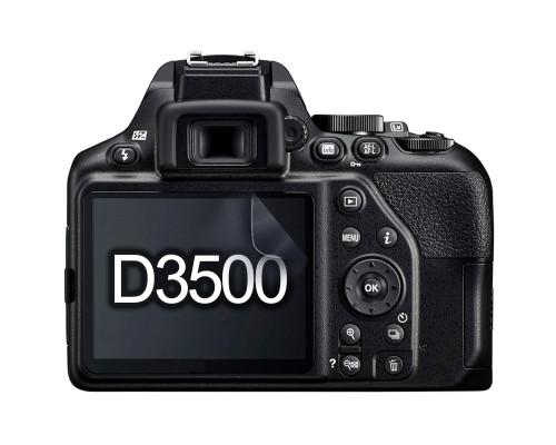 Защитная гидрогелевая пленка для экрана фотоаппарата Nikon D3500