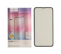 Защитное стекло HOCO для iPhone 11 3D толщина 0.2 мм черное
