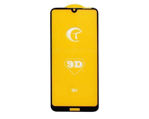 Защитное стекло для Honor 8A 9D прочностью 9H черное