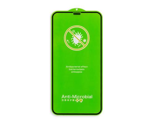 Защитное стекло для iPhone XR с антибактериальным покрытием