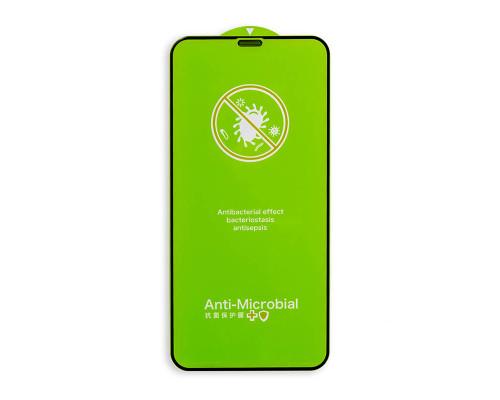 Защитное стекло для iPhone XS с антибактериальным покрытием