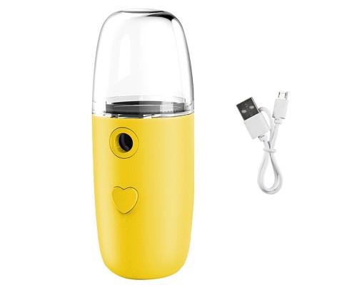 Портативный увлажнитель для лица N08, 50 мл, желтый