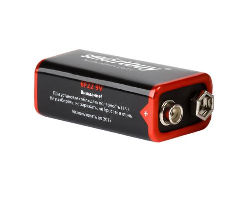 Батарейка солевая Smartbuy 6F22 9В, 1 шт, крона