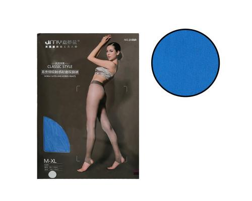 Женские колготки JMY (рост 150-175 см, таллия 85-110 см, цвет голубой)