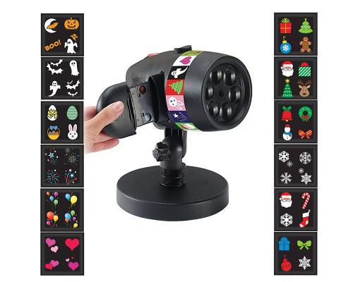 Новогодний лазерный проектор для улицы Slide 12 слайдов