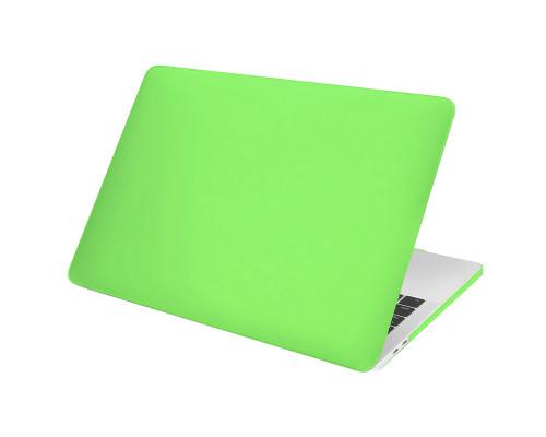 """Пластиковый чехол-накладка для Apple MacBook Pro 13"""" 2016 - 2017, матовый, зеленый"""