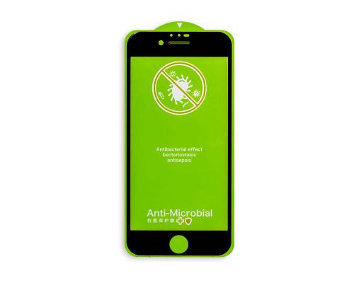 Защитное стекло для iPhone 8 с антибактериальным покрытием
