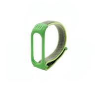 Ремешок нейлоновый для Xiaomi Mi Band 3, зеленый