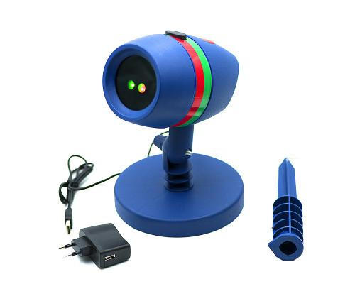 Новогодний лазерный проектор Звездный Дождь для улицы Star Shower Motion с регулировкой режимов