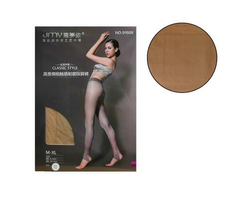 Женские колготки JMY (рост 150-175 см, таллия 85-110 см, цвет светлый телесный)