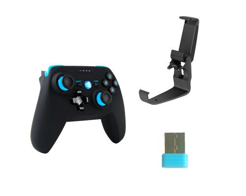Геймпад джойстик X1 Smurf беспроводной для телефона и ПК