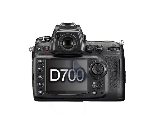 Защитная гидрогелевая пленка для экрана фотоаппарата Nikon D700