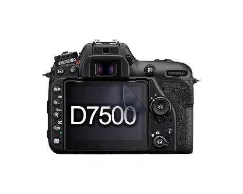 Защитная гидрогелевая пленка для экрана фотоаппарата Nikon D7500