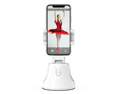 Смарт-штатив Apai Genie для телефонов, вращающийся на 360° с датчиком движения, белый