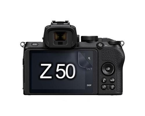 Защитная гидрогелевая пленка для экрана фотоаппарата Nikon Z 50