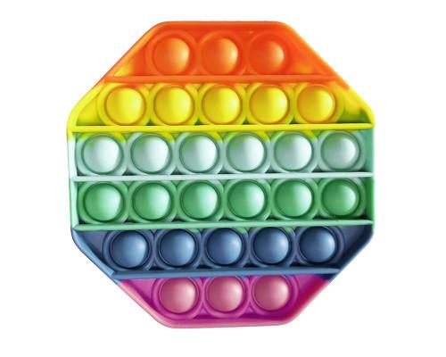 Сенсорная игрушка антистресс Поп ит Pop it, восьмиугольник